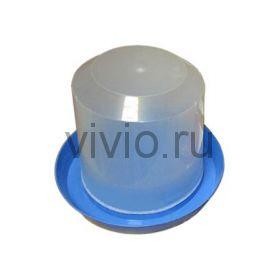 Поилка для кур  10л пластиковая вакуумная